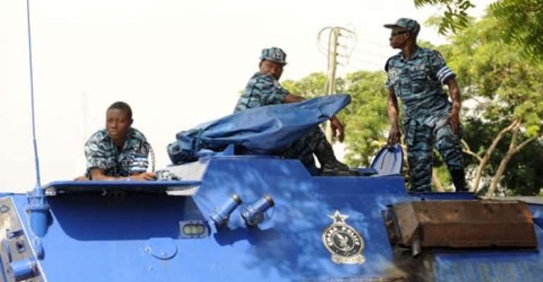 The Ghana Police Force Blame AMA For The Lawlessness In Accra